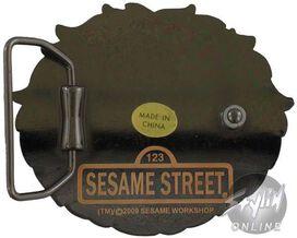 Sesame Street Oscar the Grouch Buckle