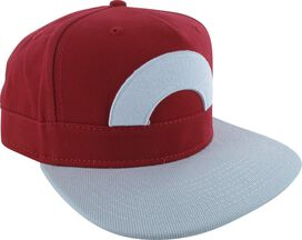 Pokemon Ash Hat Red Snapback Hat