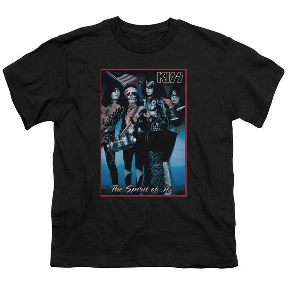 Kiss Spirit Of 76 Short Sleeve Youth T-Shirt