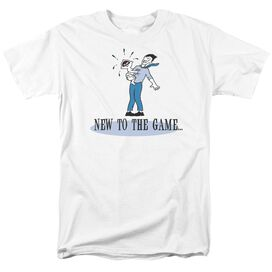 New To The Game Short Sleeve Adult T-Shirt