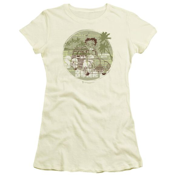 Betty Boop California Short Sleeve Junior Sheer T-Shirt