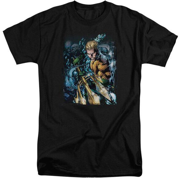 Jla Aquaman #1 Short Sleeve Adult Tall T-Shirt