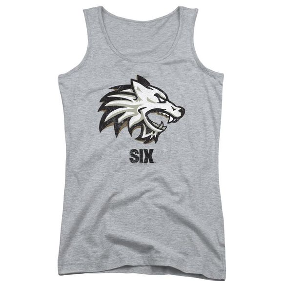 Six Wolf Juniors Tank Top Athletic
