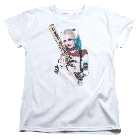 Suicide Squad Bat At You Short Sleeve Womens Tee T-Shirt