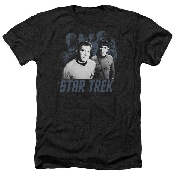 Star Trek Kirk Spock And Company Adult Heather