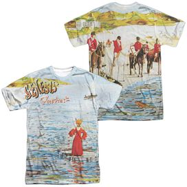 Genesis Foxtrot Cover (Front Back Print) Short Sleeve Adult Poly Crew T-Shirt