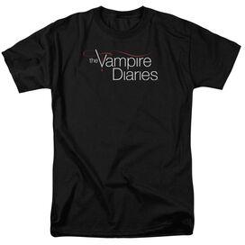 Vampire Diaries Tvd Logo Short Sleeve Adult T-Shirt