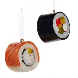 Sushi Ornament (2 pack)