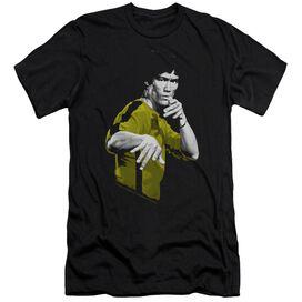 BRUCE LEE SUIT OF DEATH - S/S ADULT 30/1 - BLACK T-Shirt