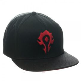 World of Warcraft Horde Snapback Hat