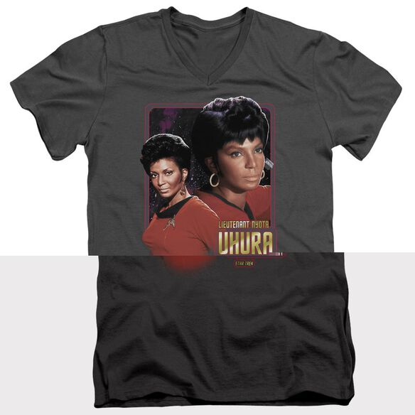 Star Trek Lieutenant Uhura Short Sleeve Adult V Neck T-Shirt