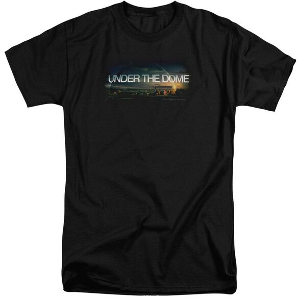Under The Dome Dome Key Art Short Sleeve Adult Tall T-Shirt