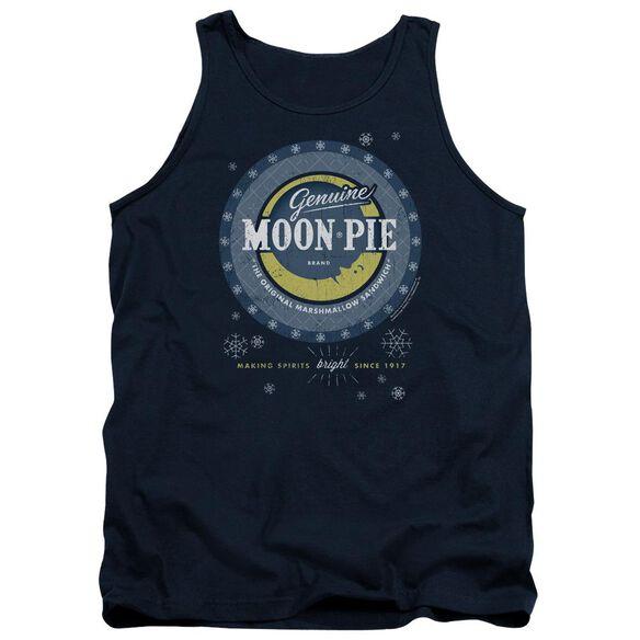 Moon Pie Snowing Moon Pies Adult Tank