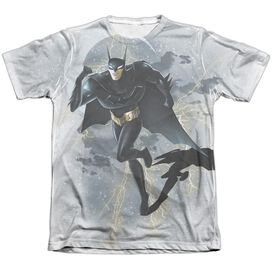 Beware The Batman Storm Sprint Adult Poly Cotton Short Sleeve Tee T-Shirt