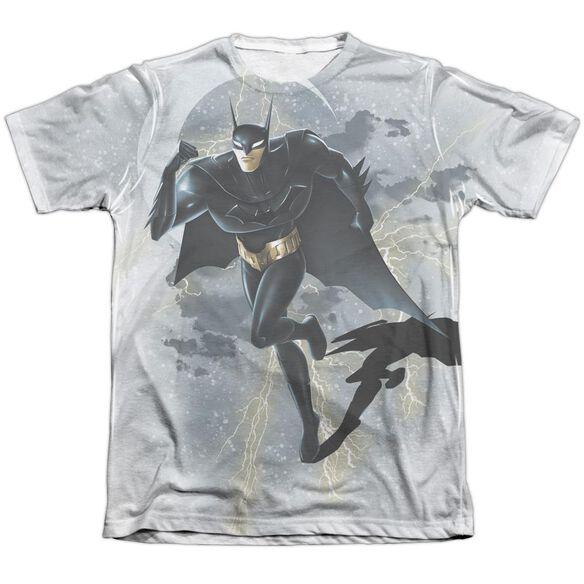 Beware The Batman Storm Sprint Adult Poly Cotton Short Sleeve Tee T-Shirt