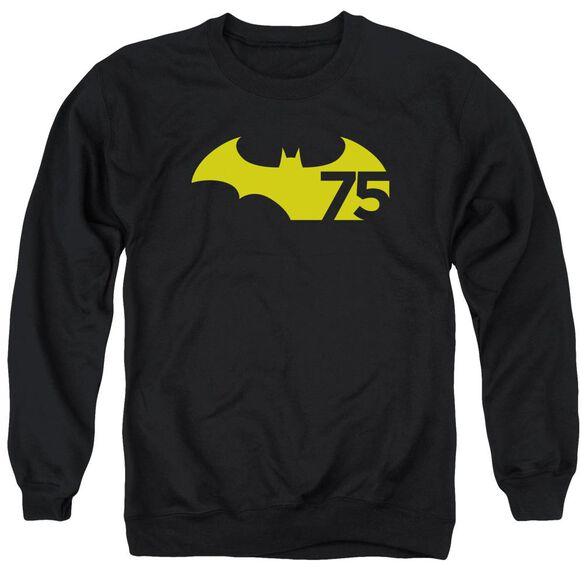 Batman 75 Logo 2 Adult Crewneck Sweatshirt
