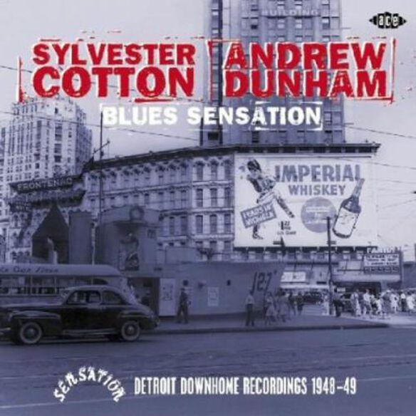 Blues Sensation: Detroit Downhome Rec. 1948 49