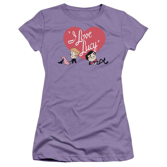 I Love Lucy Content Short Sleeve Junior Sheer T-Shirt