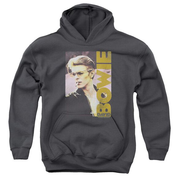 David Bowie Smokin Youth Pull Over Hoodie
