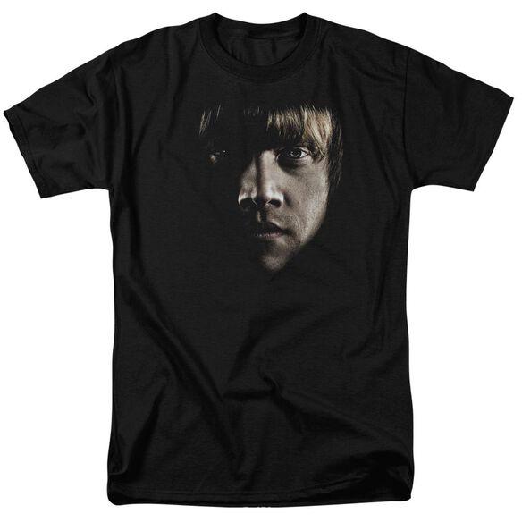 Harry Potter Ron Poster Head Short Sleeve Adult T-Shirt