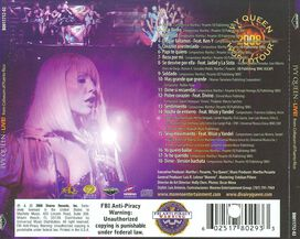 Ivy Queen - Ivy Queen 2008 World Tour Live!