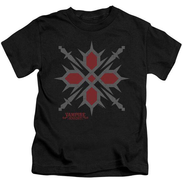 Vampire Knight Hunter Symbol Short Sleeve Juvenile T-Shirt