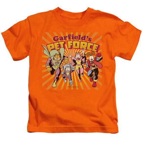 Garfield Pet Force Burst Short Sleeve Juvenile T-Shirt