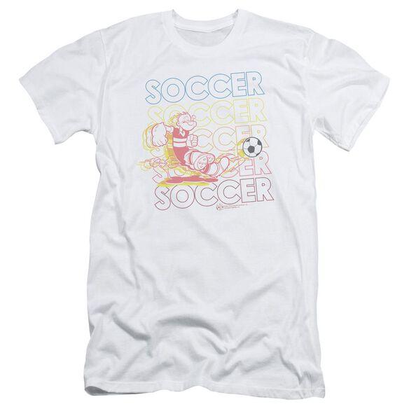 POPEYE SOCCER - S/S ADULT 30/1 - WHITE T-Shirt