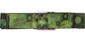Green Lantern Weathered Collage Seatbelt Belt