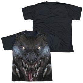 Zenoscope Werewolf Short Sleeve Youth Front Black Back T-Shirt