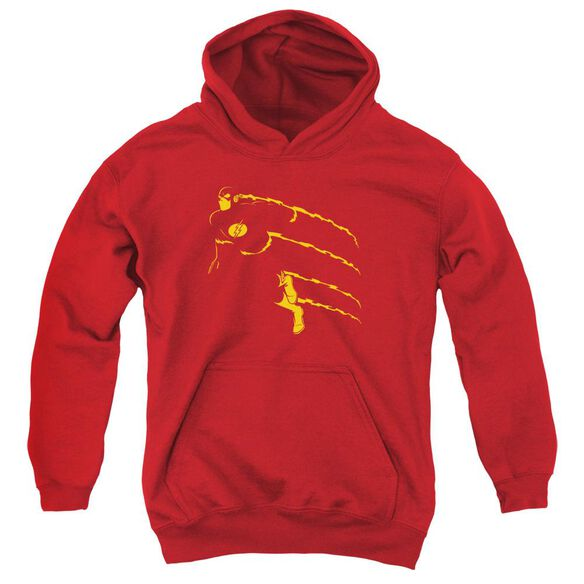 Dc Flash Flash Min Youth Pull Over Hoodie