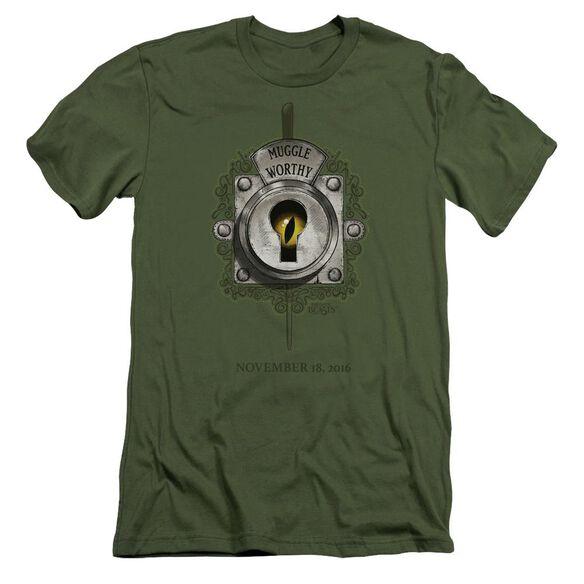 Fantastic Beasts Muggle Worthy Short Sleeve Adult Military T-Shirt