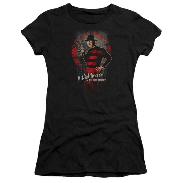 Nightmare On Elm Street This Is God Hbo Short Sleeve Junior Sheer T-Shirt