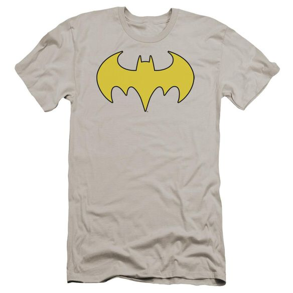 Dc Bat Girl Logo Premuim Canvas Adult Slim Fit