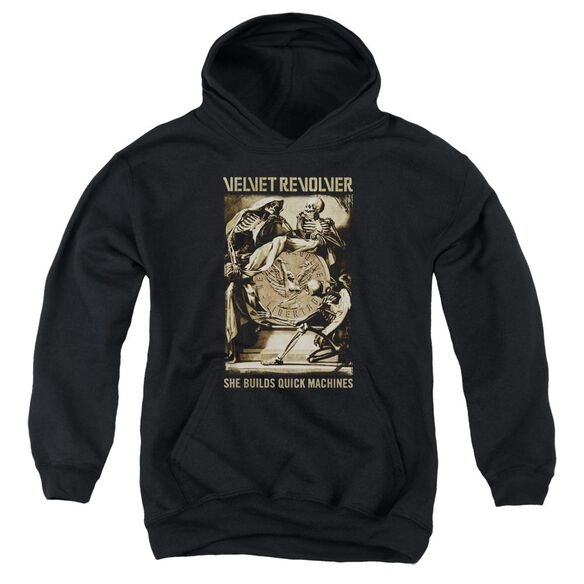 Velvet Revolver Quick Machines Youth Pull Over Hoodie