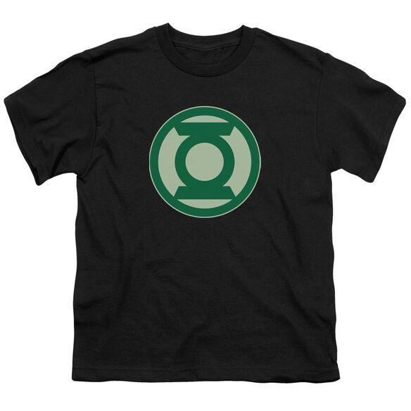 Green Lantern Green Symbol Short Sleeve Youth T-Shirt