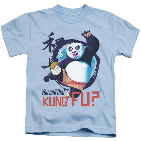 Kung Fu Panda Kung Fu Short Sleeve Juvenile Light T-Shirt