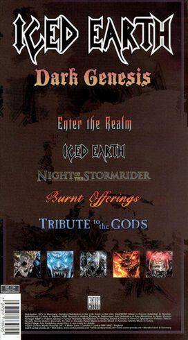 Iced Earth - Dark Genesis