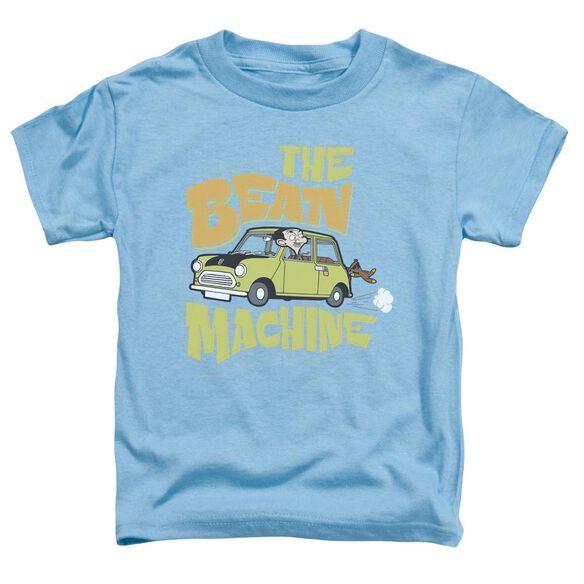 Mr Bean Bean Machine Short Sleeve Toddler Tee Carolina Blue Sm T-Shirt