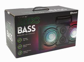 HYPE Retro Bass Wireless LED Speaker