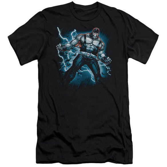 BATMAN STORMY BANE - S/S ADULT 30/1 - BLACK T-Shirt