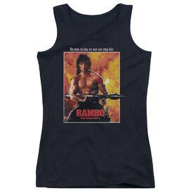 Rambo: First Blood Ii Poster Juniors Tank Top