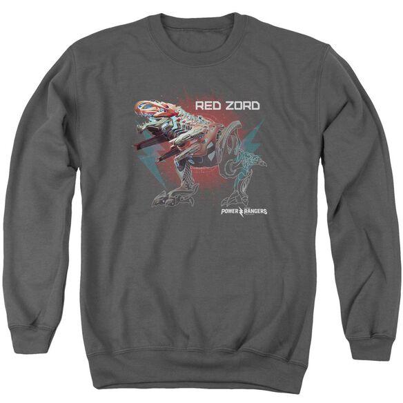Power Rangers Red Zord Adult Crewneck Sweatshirt