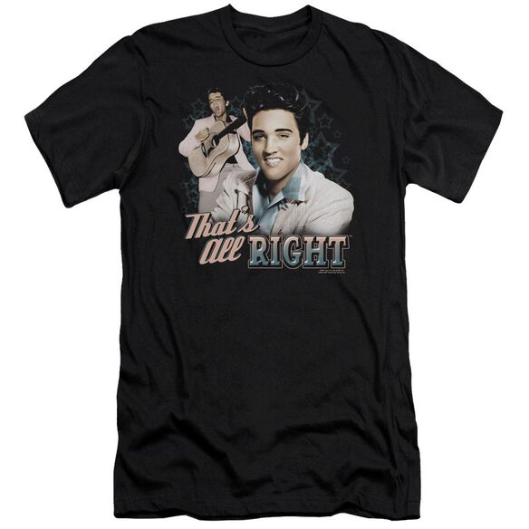 Elvis That's All Right Premuim Canvas Adult Slim Fit