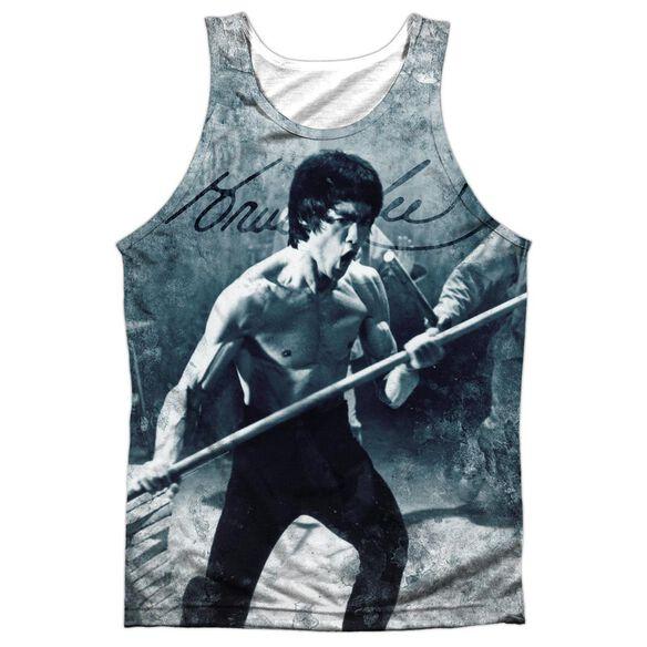 Bruce Lee Whoooaa Adult 100% Poly Tank Top