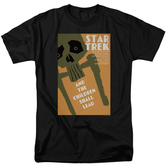 Star Trek Tos Episode 59 Short Sleeve Adult Black T-Shirt