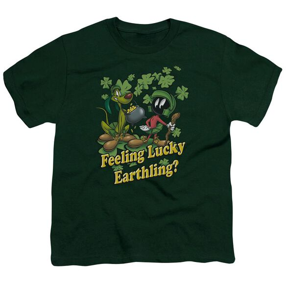 Looney Tunes Feeling Lucky Short Sleeve Youth Hunter T-Shirt