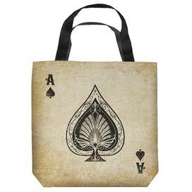 Vintage Spade Tote Bag