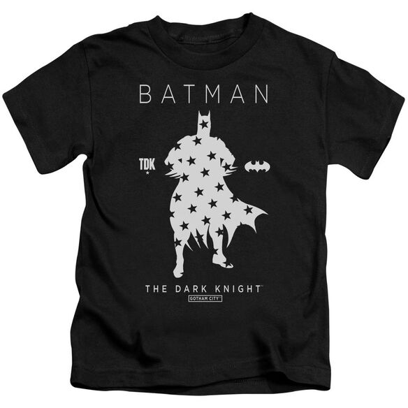 Batman Star Silhouette Short Sleeve Juvenile T-Shirt