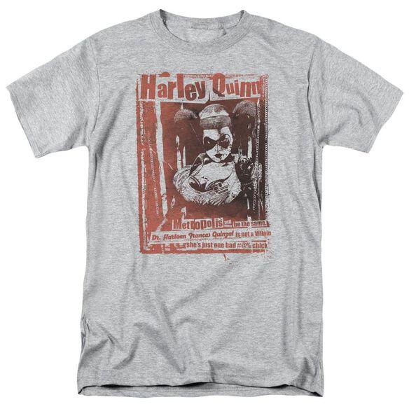 BATMAN DR QUINN - S/S ADULT 18/1 - ATHLETIC HEATHER T-Shirt